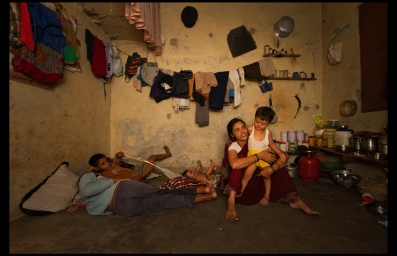 photo essay how the other half lives asia floor wage campaign  all belongings go on one wall